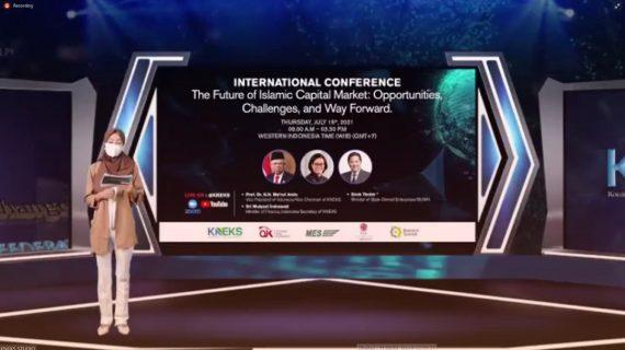 "Konferensi Internasional Online KNEKS ""The Future Of Islamic Capital Market In Indonesia"""